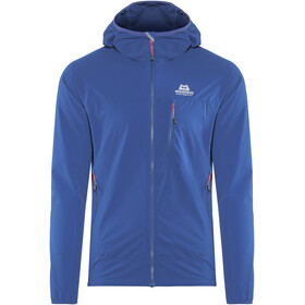 Mountain Equipment M's Echo Hooded Jacket Sodalite Blue